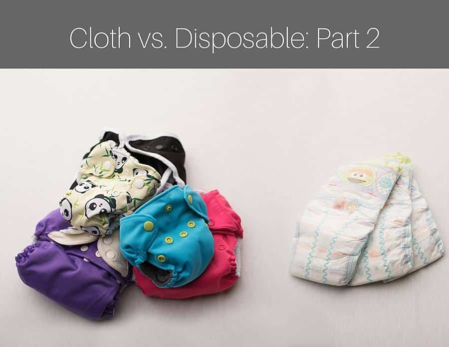 diaper comparison of cloth and disposable diapers in Denham Springs by baby photographer