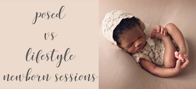Posed vs. Lifestyle Newborn Sessions | Baton Rouge Area Newborn Photographer
