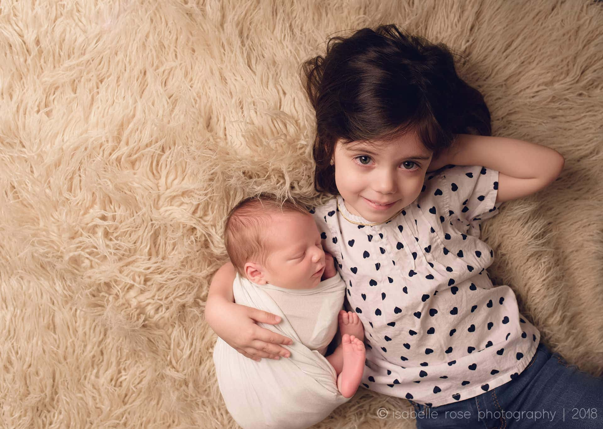 baton rouge newborn photographer baby with sibling