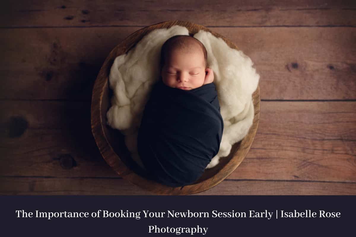 baton rouge newborn photography baby in bowl wrapped