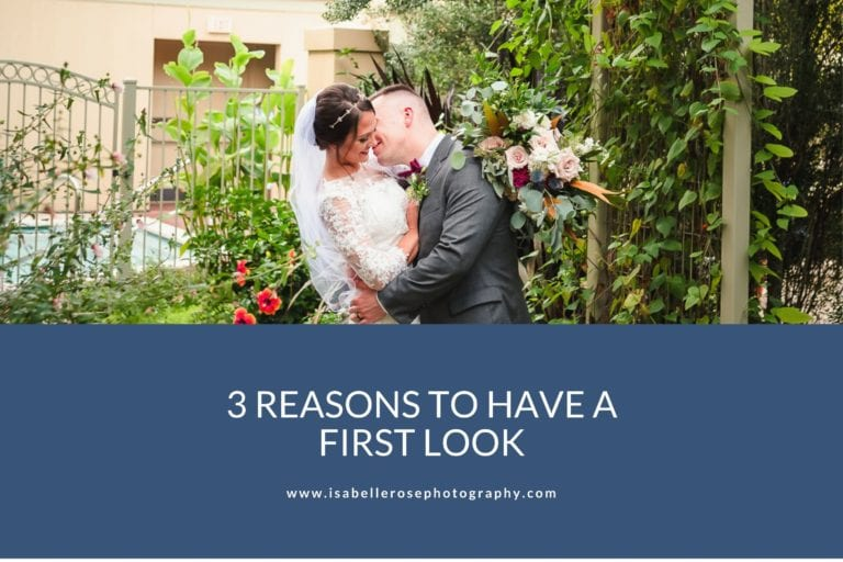 3 Reasons To Have A First Look | Romantic Baton Rouge Wedding Photographer