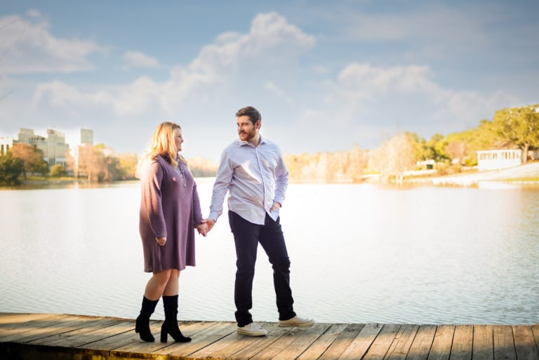 Downtown Baton Rouge Engagement Session | Kaitlyn + Carter