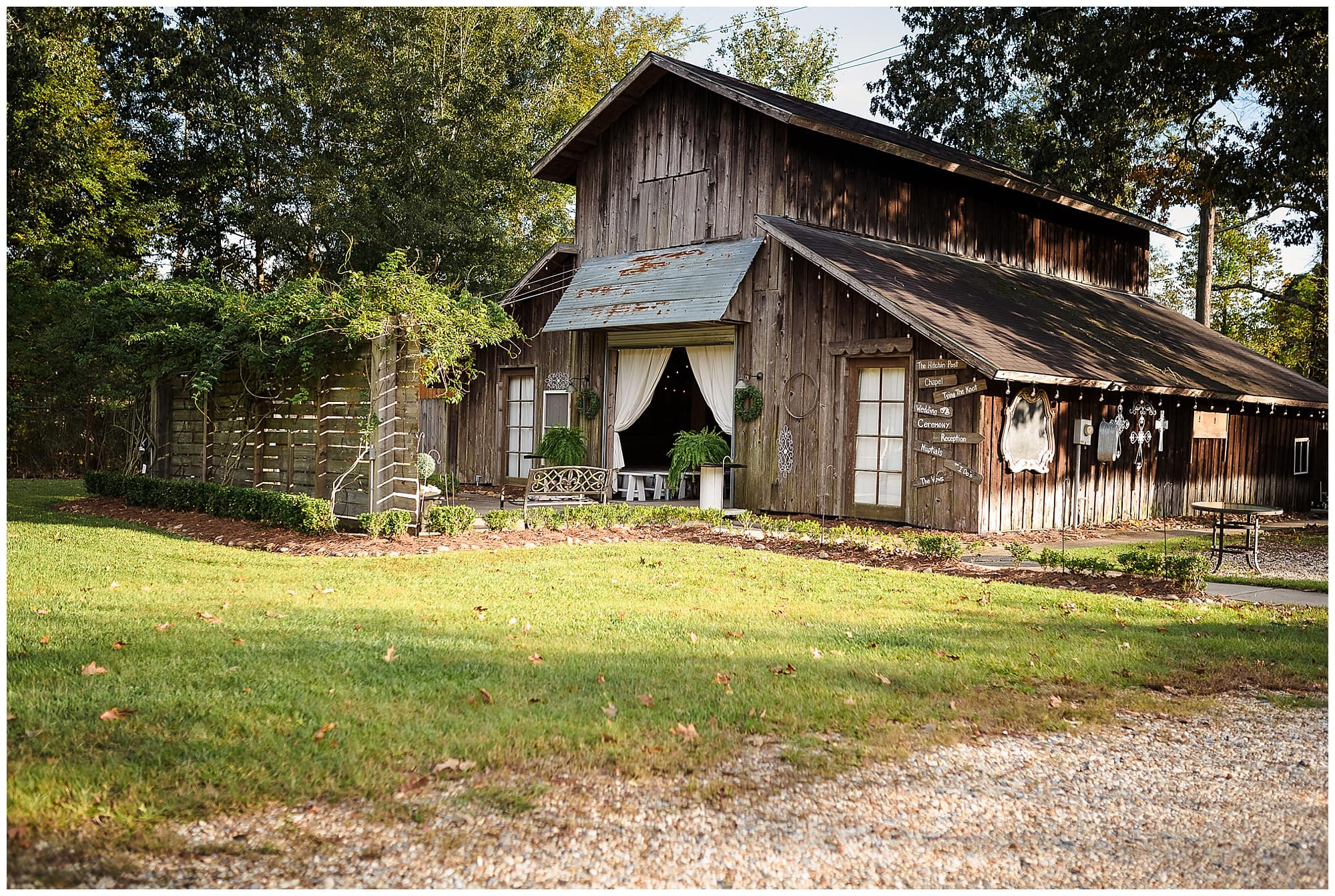 Ashley Manor Baton Rouge wedding venue barn