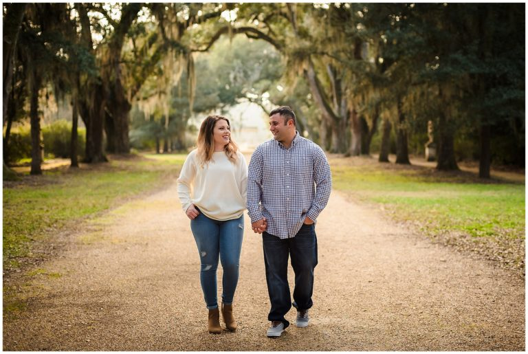 Rosedown Plantation St. Francisville Engagement Session | Samantha + Jeremy
