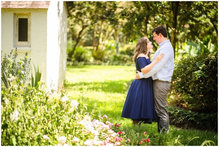Baton Rouge Windrush Gardens Engagement Session | Taylor + David
