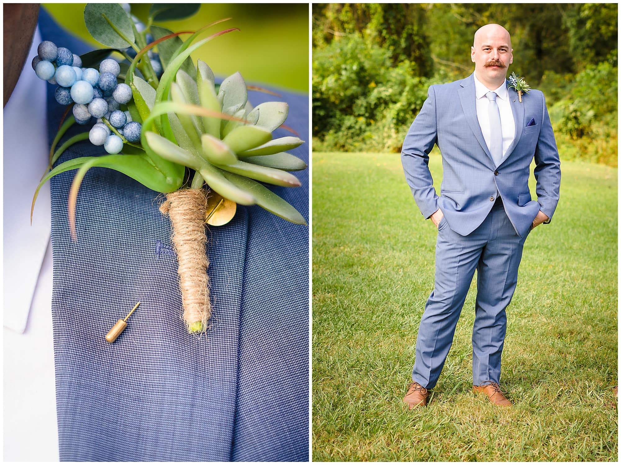 groom posing and boutionniere Orangerie wedding in Baton Rouge
