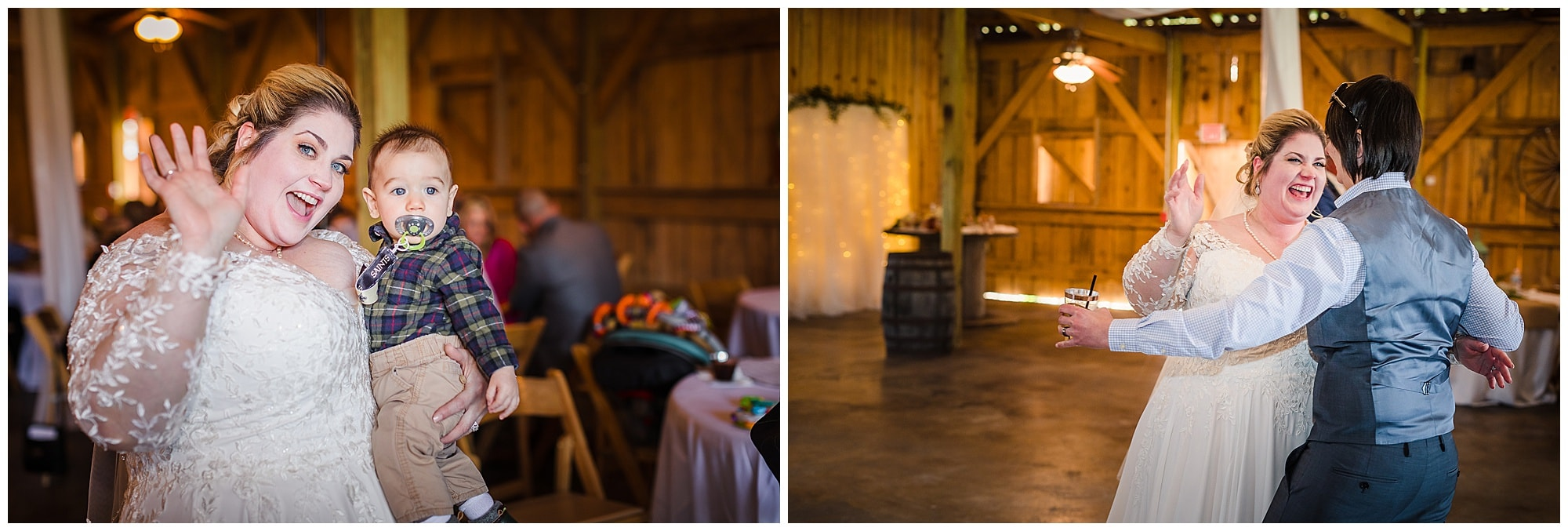 The Barn at TH Farm party dancing