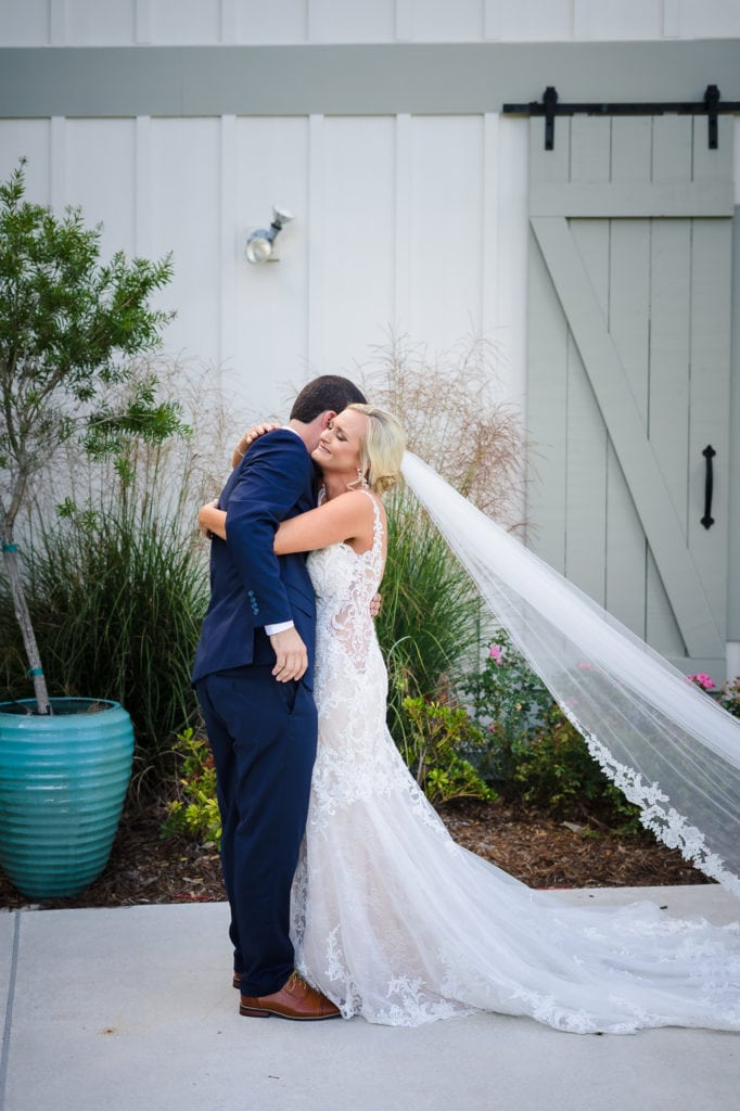 5 tips for planning your wedding during a pandemic bride and groom hugging