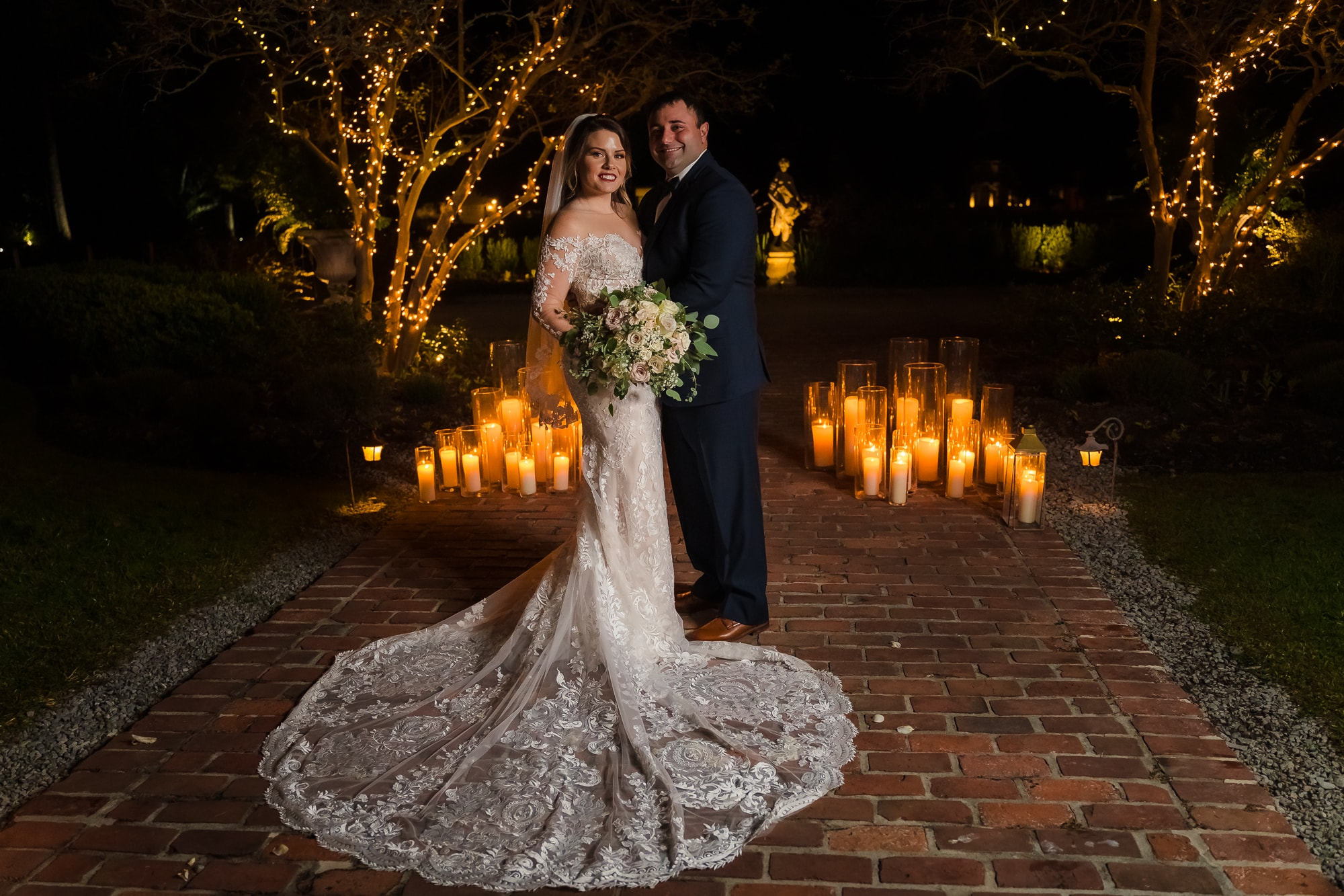 5 Tips For Planning Your Wedding During A Pandemic couple wedding portrait