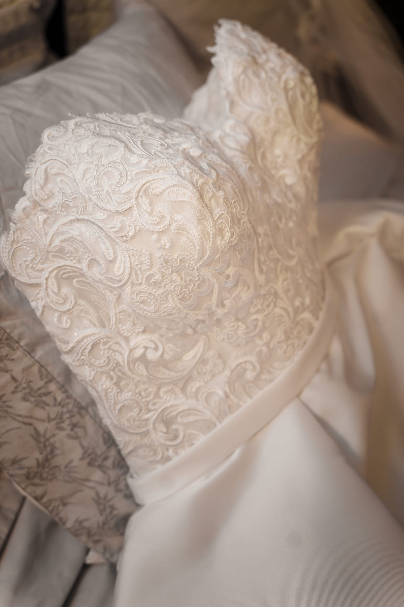 The Gatehouse Baton Rouge Wedding wedding dress