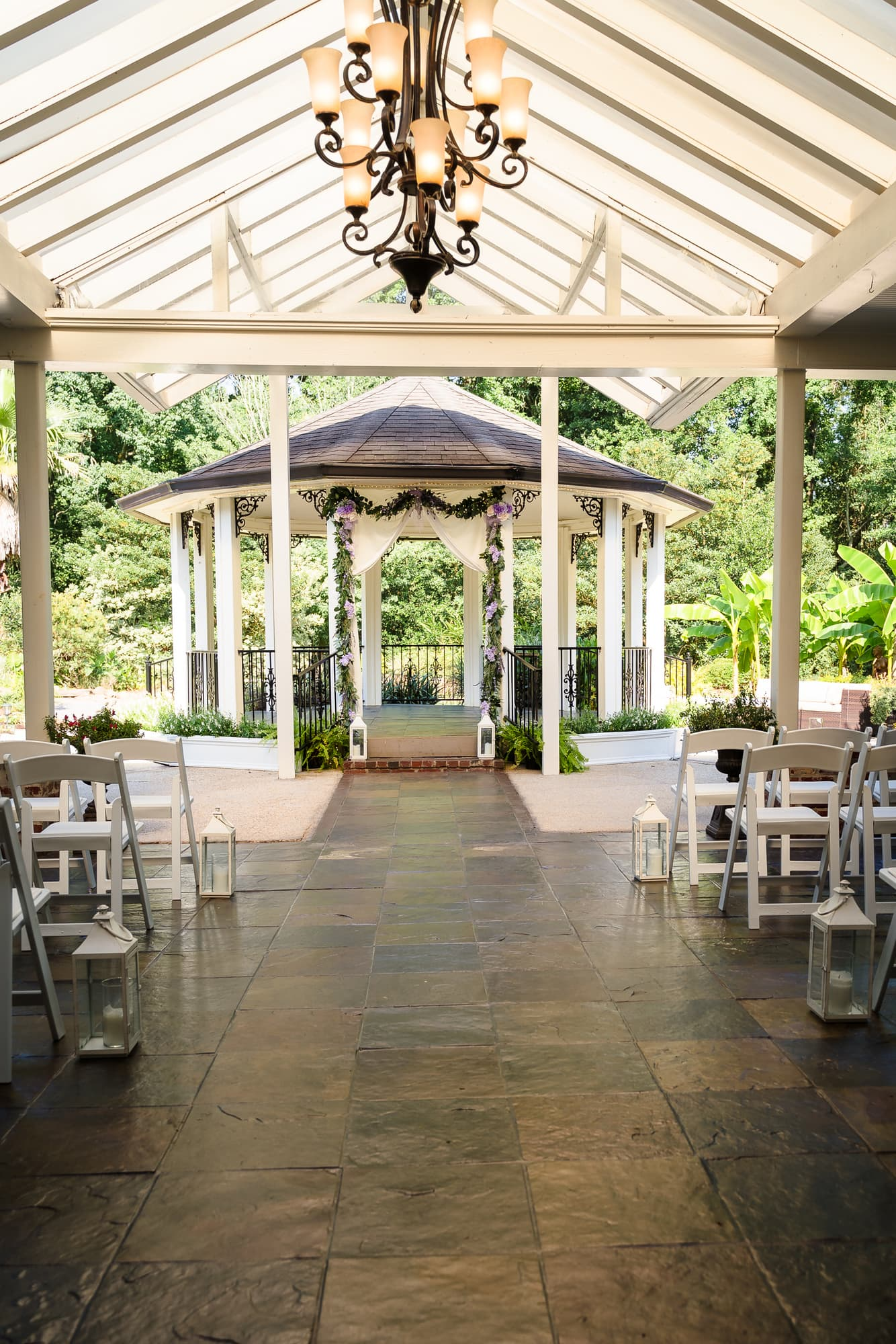 The Gatehouse Baton Rouge Wedding ceremony location