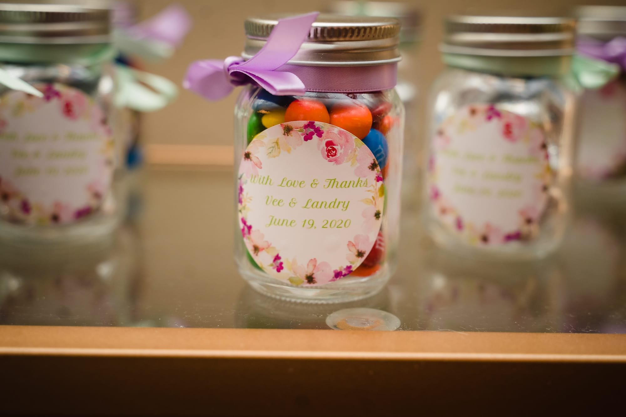 The Gatehouse Baton Rouge Wedding wedding favor