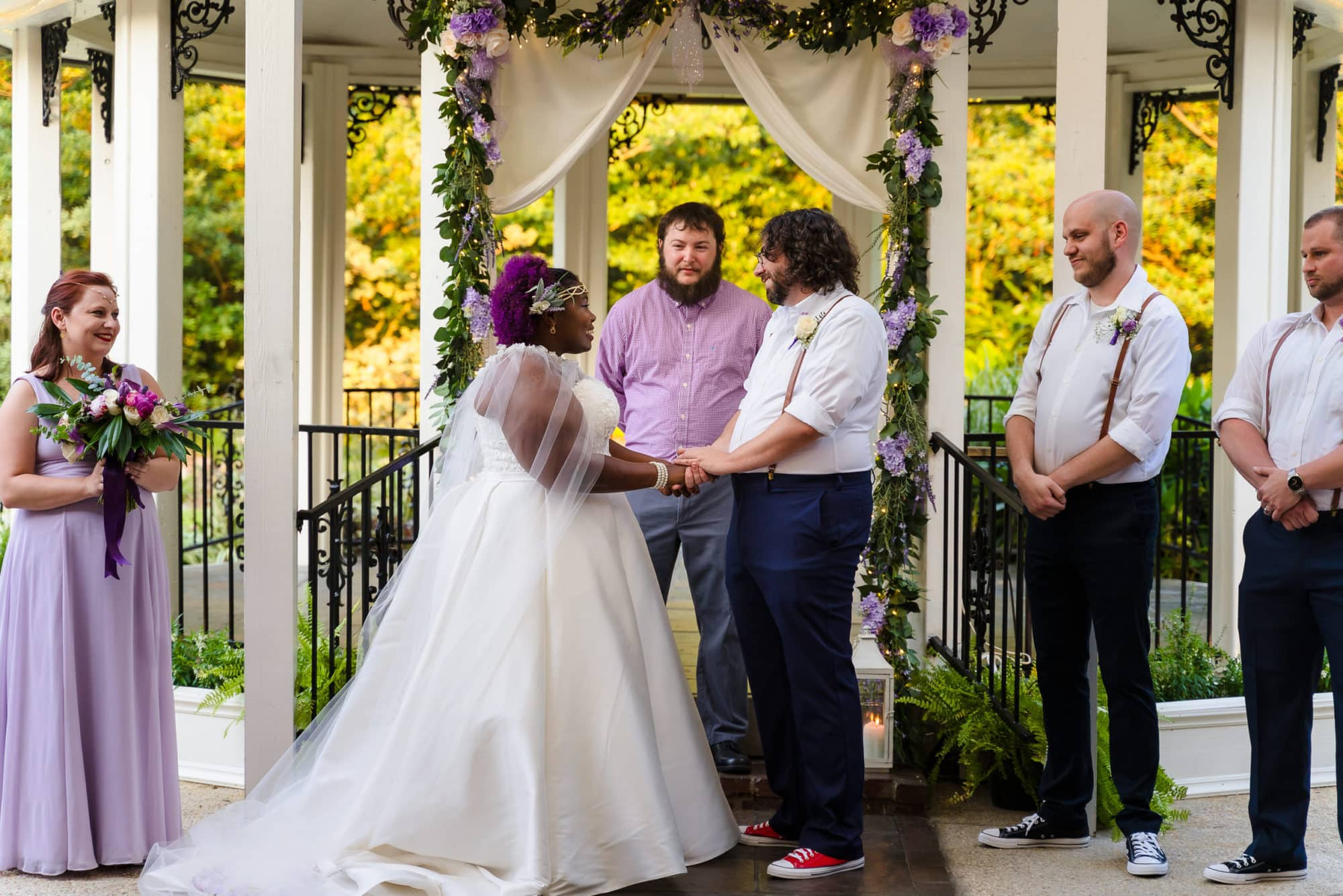The Gatehouse Baton Rouge Wedding ceremony