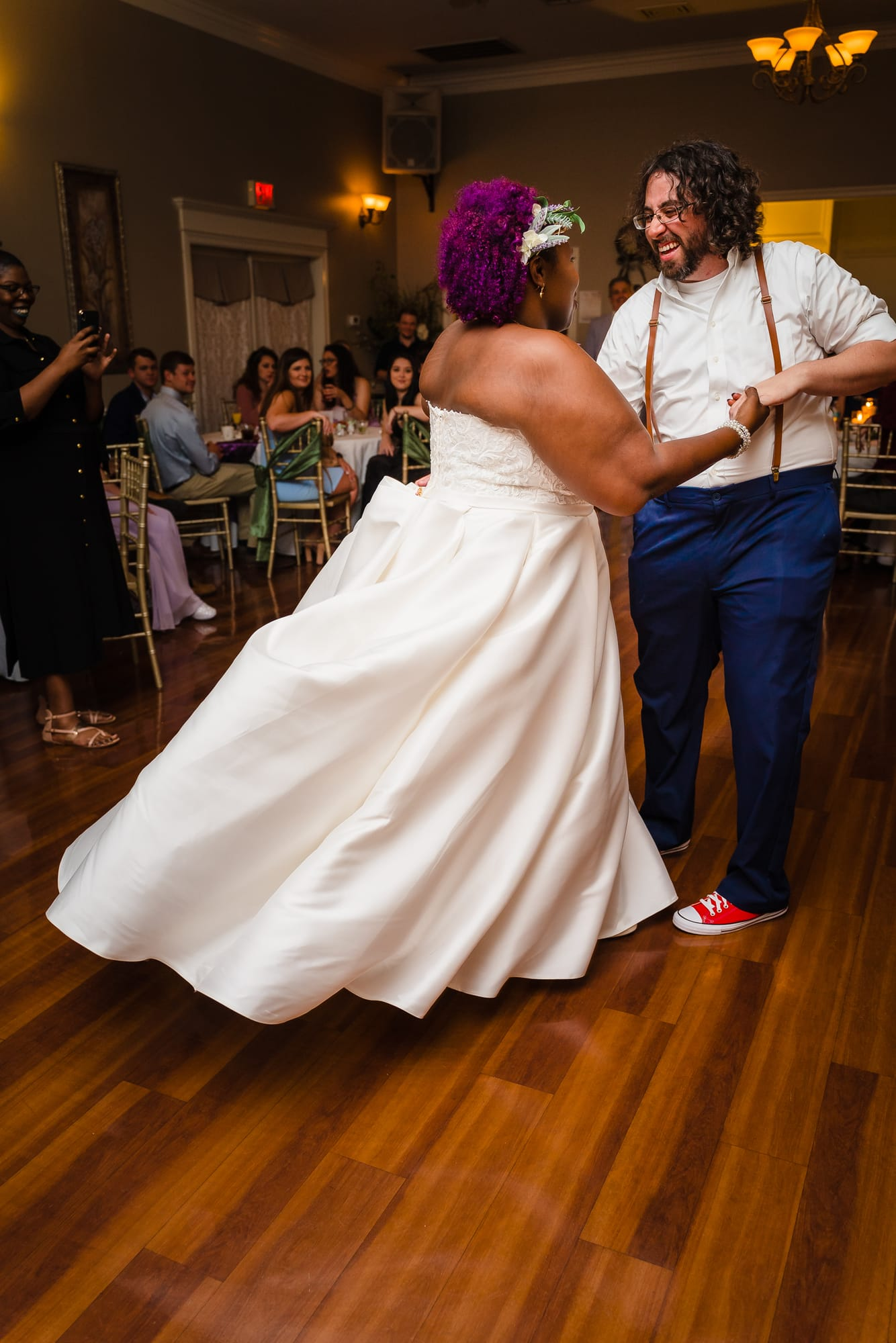 The Gatehouse Baton Rouge Wedding first dance