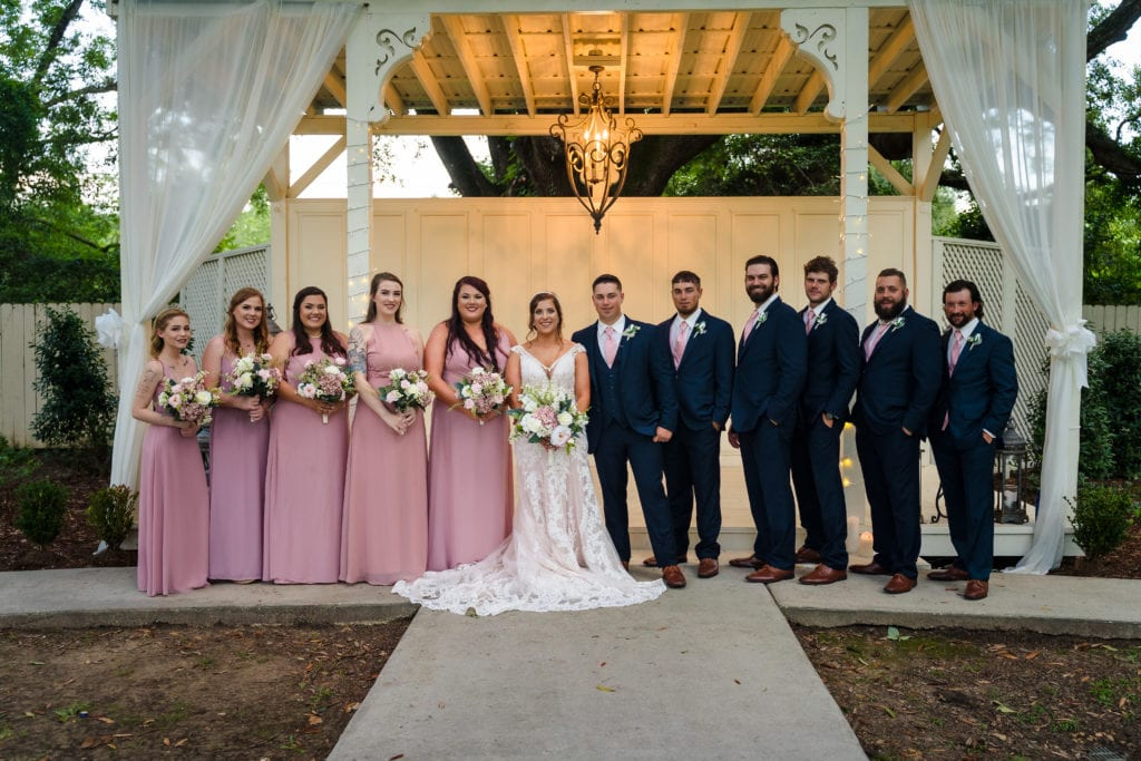 wedding party at parc 73